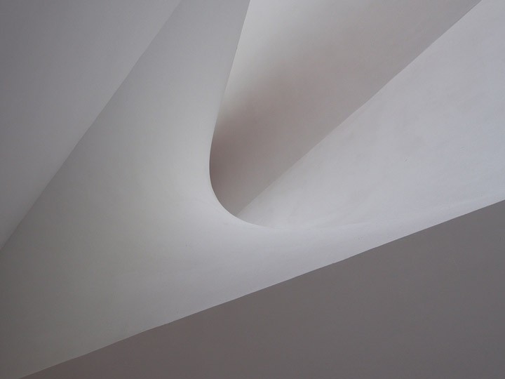 curved gypsum tel aviv museum of art