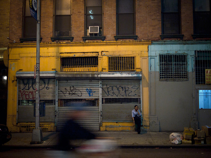 liminal by ethan feuer: tribeca at night