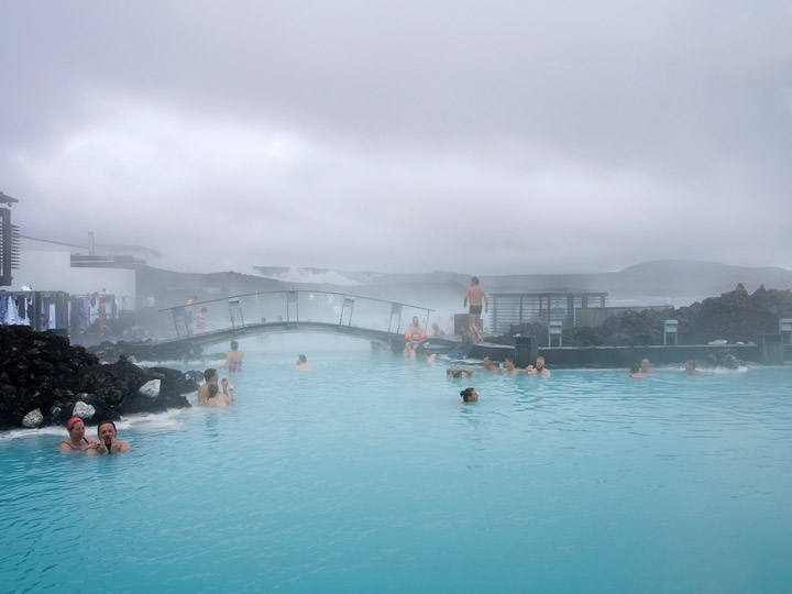 the blue lagoon in iceland
